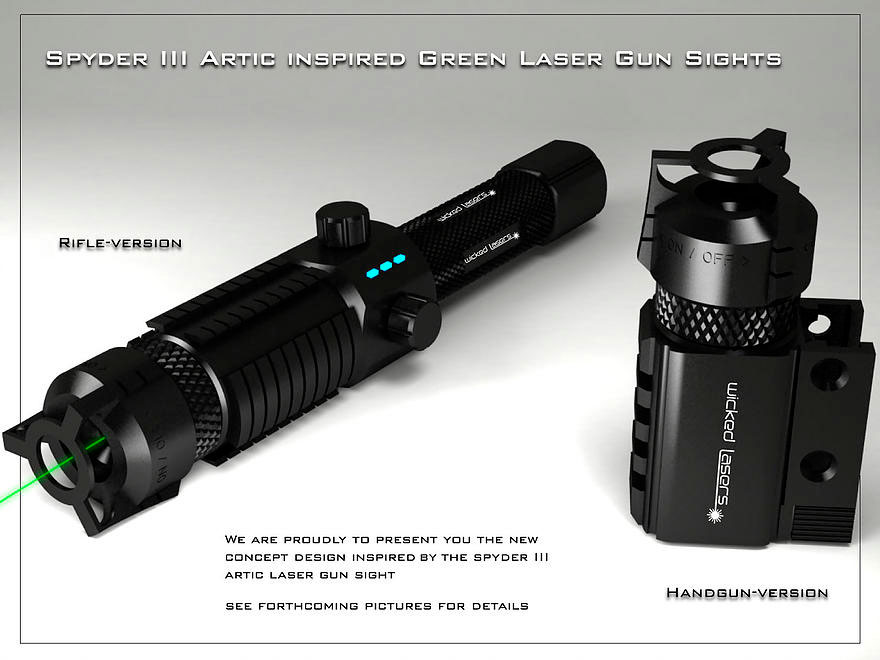 Spyder III – Laser gun sight